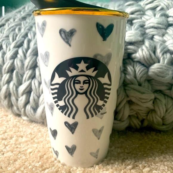 Starbucks Ceramic Travel Mug